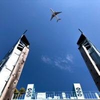 水門と飛行機 2
